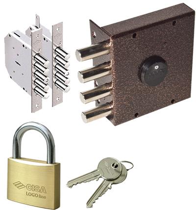 Типы замков дверных