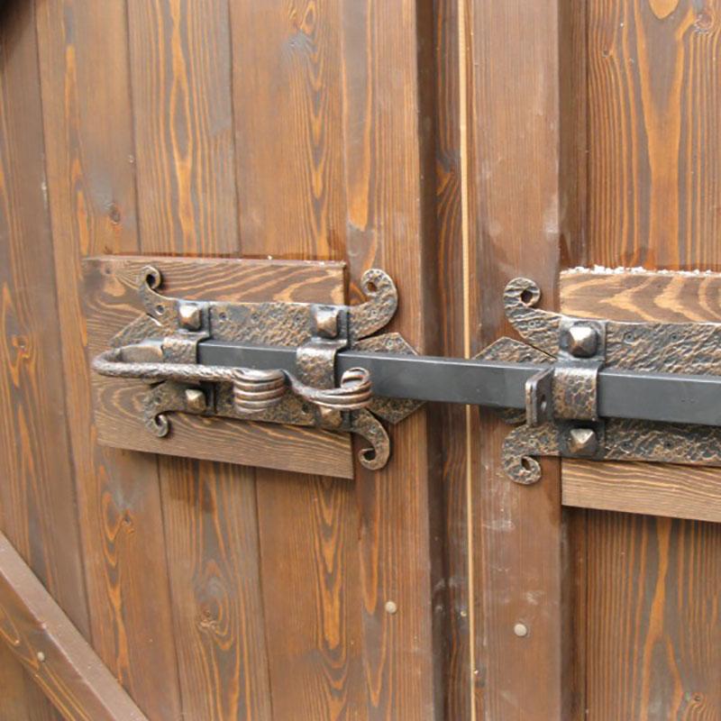 Как сделать дверной засов - 32n.ru