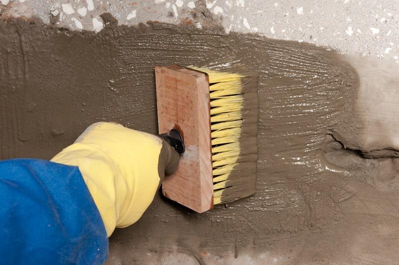Покрытие стен водостойко