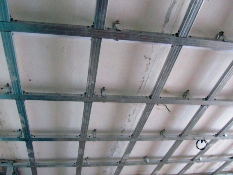 Подвесные потолки как сделать самому