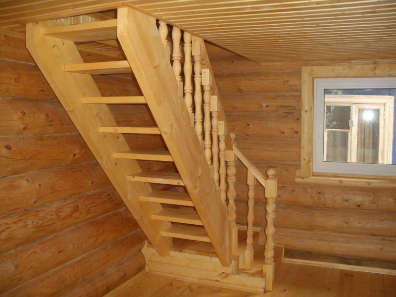 Лестницы на мансарду этаж в частном доме своими руками