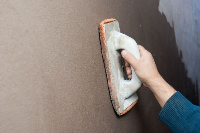 Штукатурка стен своими руками пенополистирола