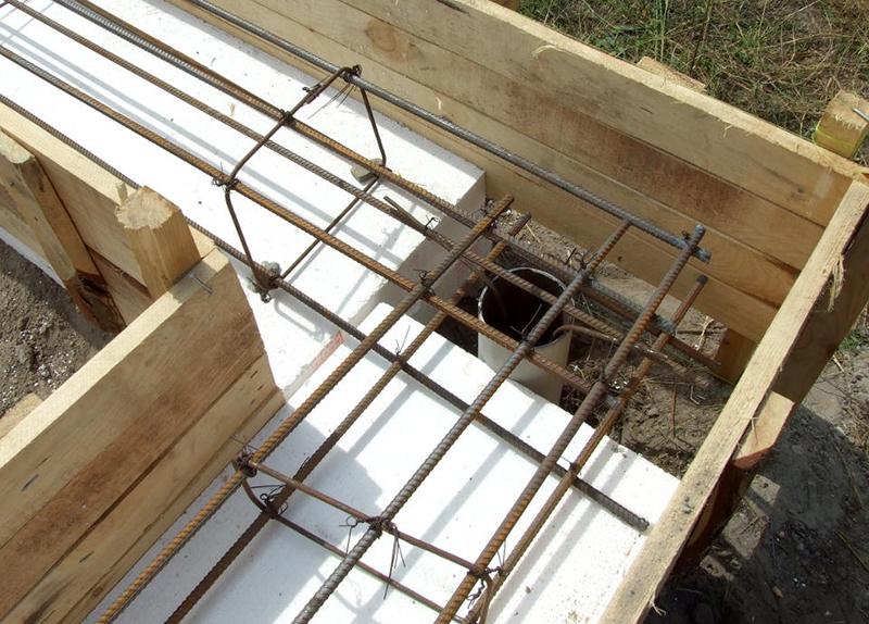 Свайно ростверковый фундамент под кирпичный дом