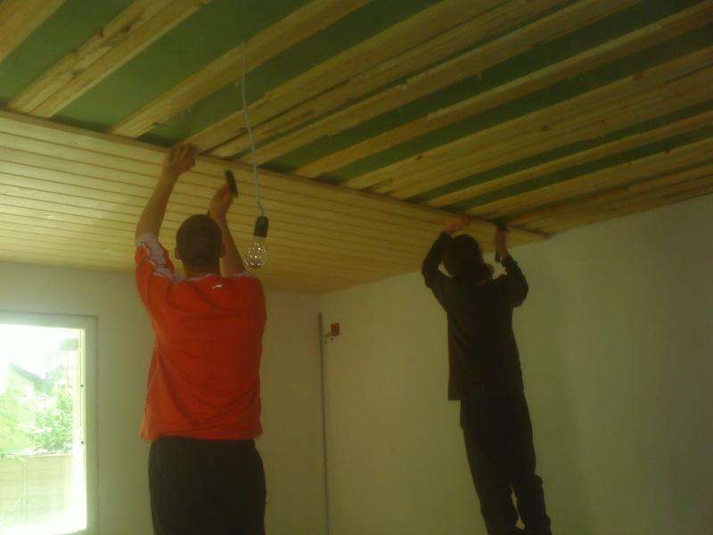 Как крепить вагонку к потолку