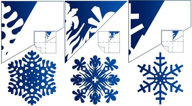 Сделать новогодние снежинки своими руками из бумаги