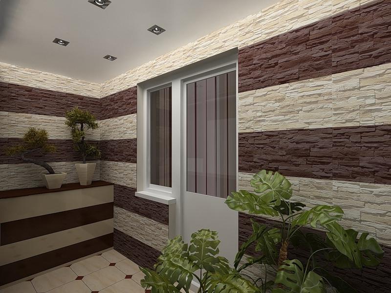 Видео отделка балкона камнем. - дизайн маленьких лоджий - ка.