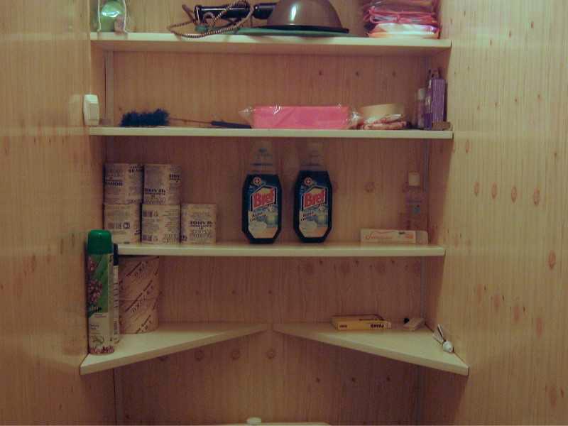 Полки для шкафа своими руками фото