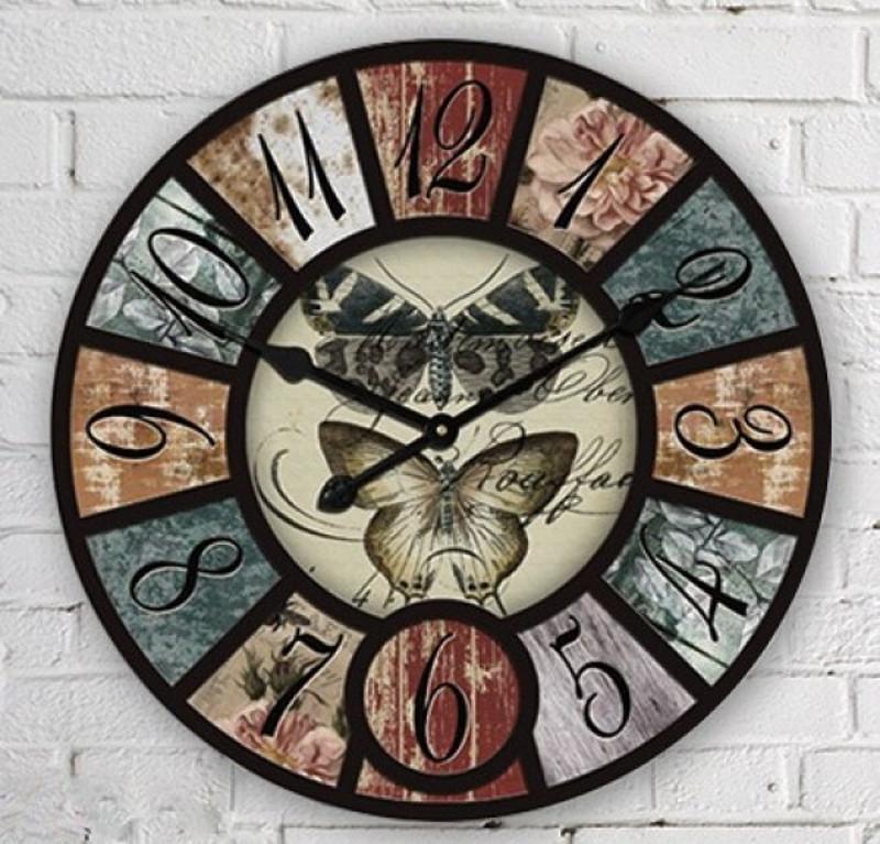 Настенные часы в стиле лофт своими руками