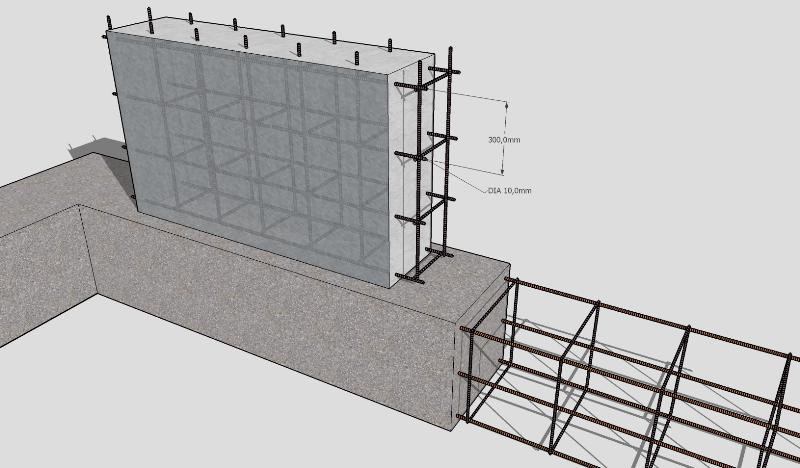 Как армировпть панельную стену