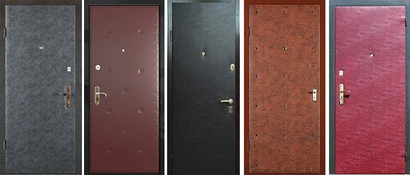 Обить дверь дерматином 23
