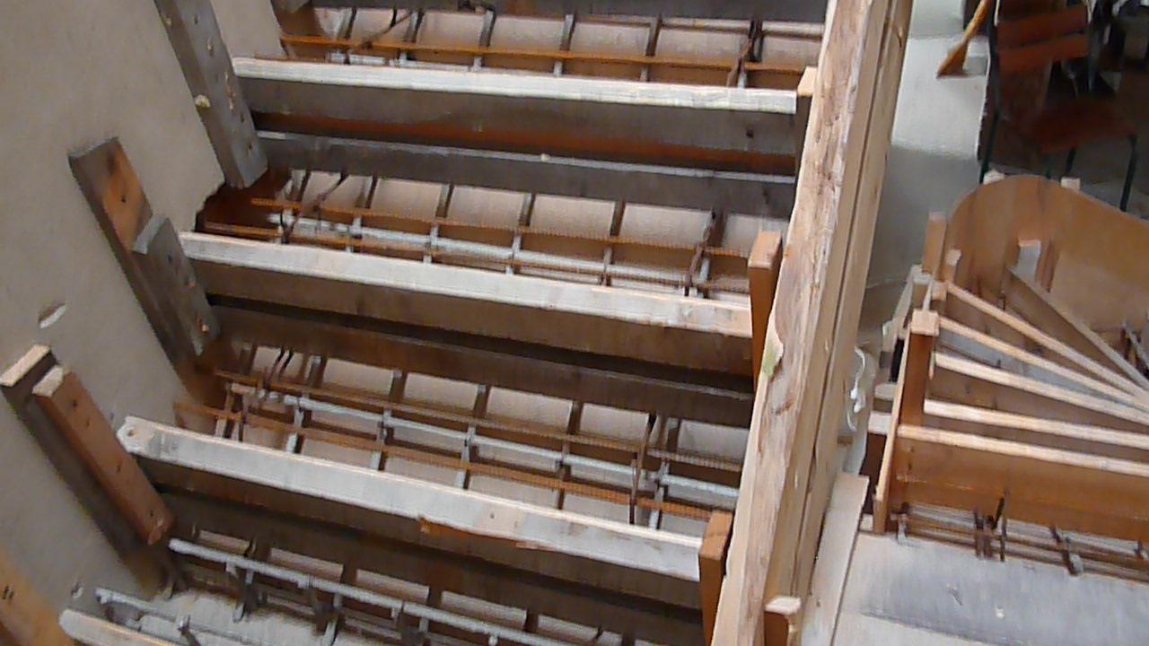Опалубка для лестницы своими руками 618