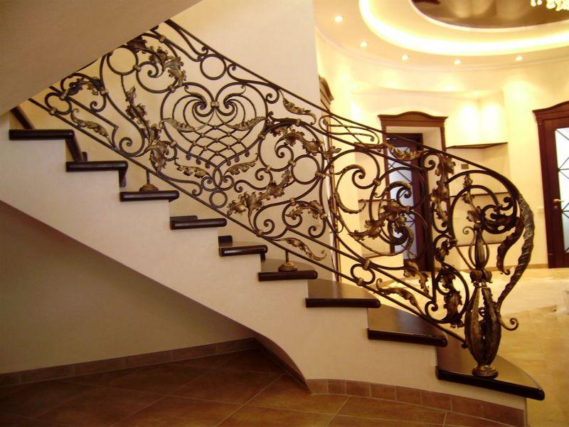 лестницы фото ковка