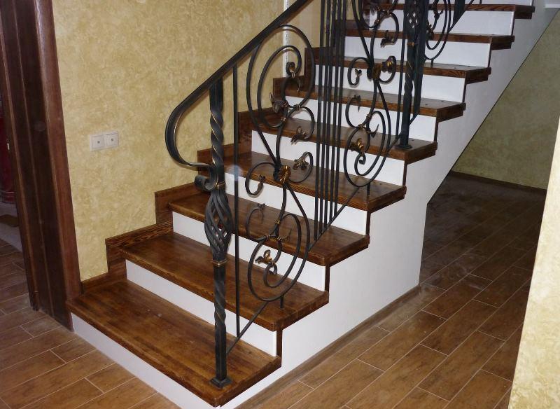 Обшивка бетонной лестницы своими руками