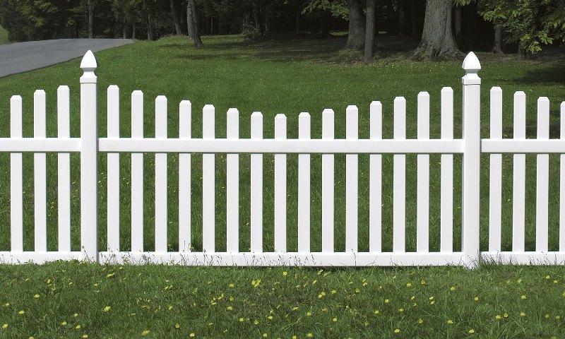 Как сделать маленький забор