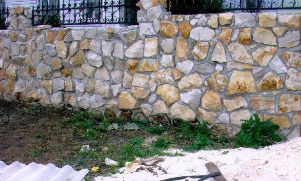 Кладка из камня своими руками фото