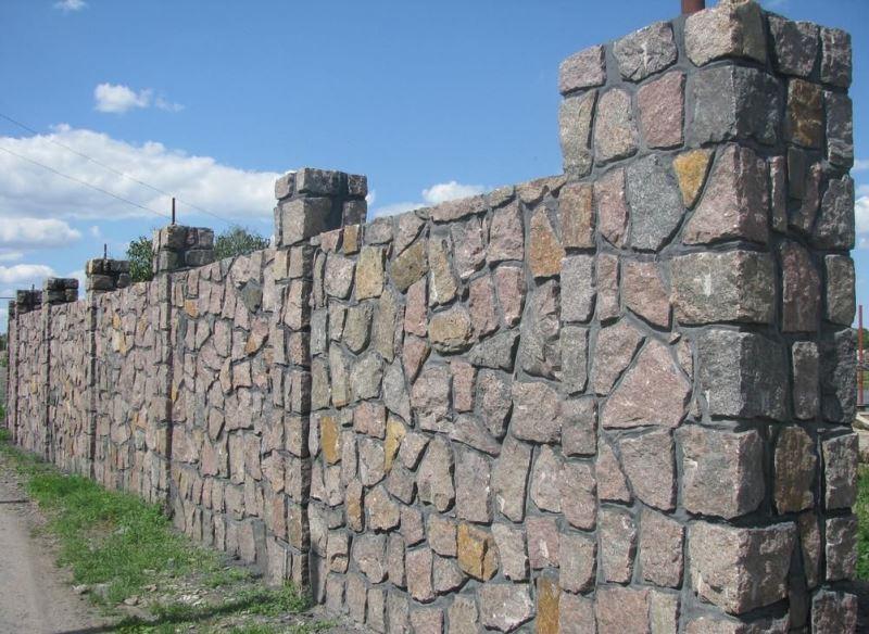 Забор из бута своими руками фото 9