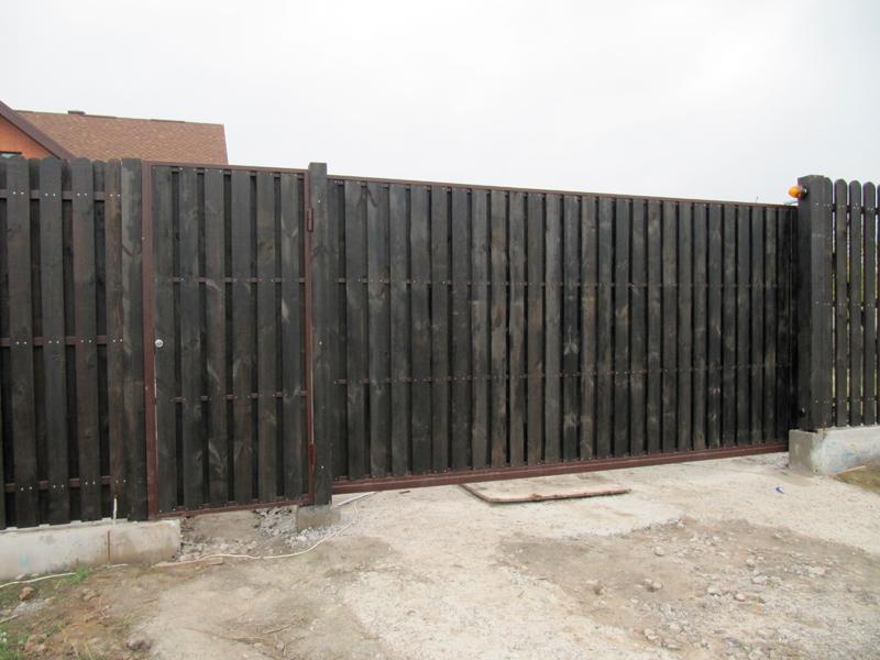 Ворота своими руками из подручных материалов