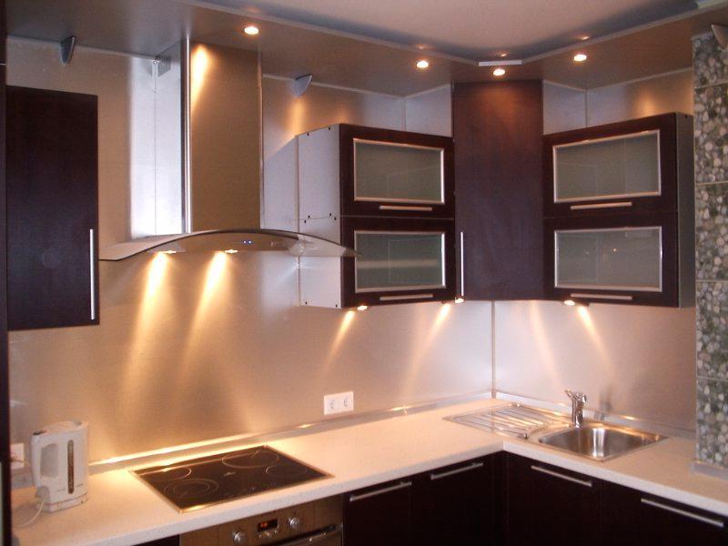 Светильники для кухни над рабочей поверхностью