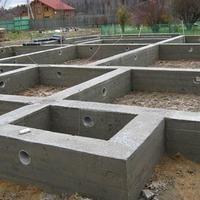 Строительство фундамента под дом своими руками